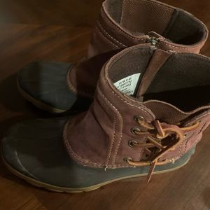 Sperry Wedge Duck Boots